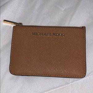 Michael Kors coin purse ID holder